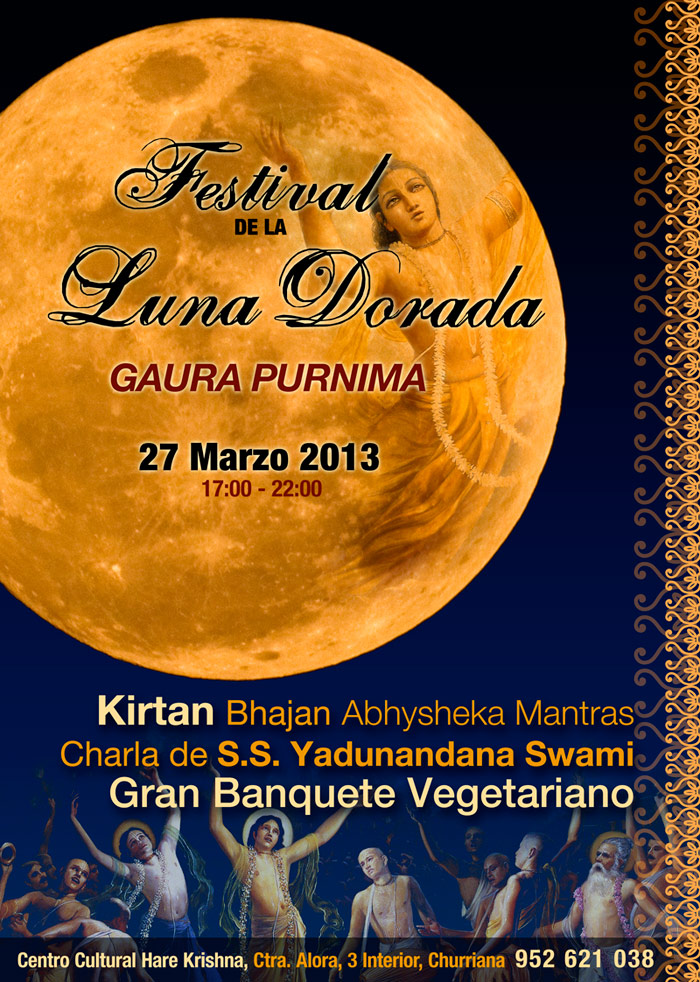festival de la luna dorada, bhakti yoga kirtan vedas
