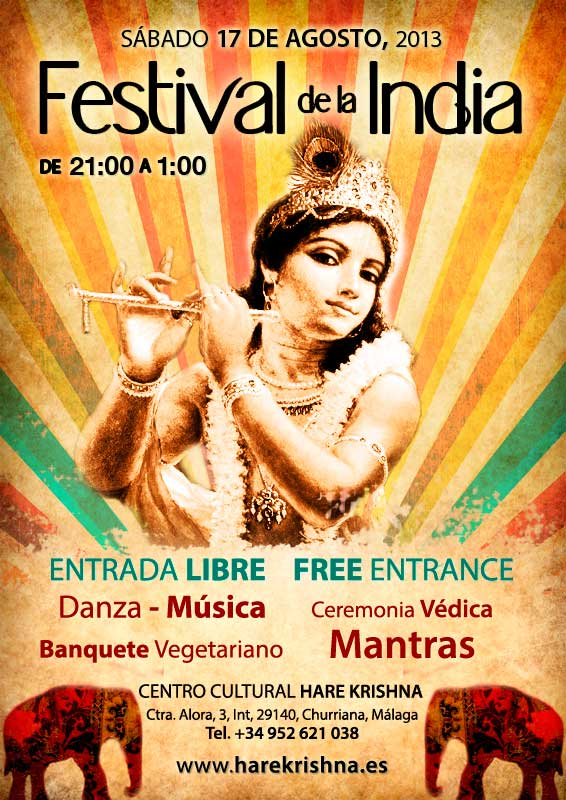 festival de la india, sábado 17 Agosto 2013, churriana, málaga