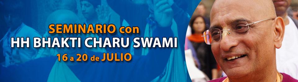 Visita de S.S Bhakti Charu Swami