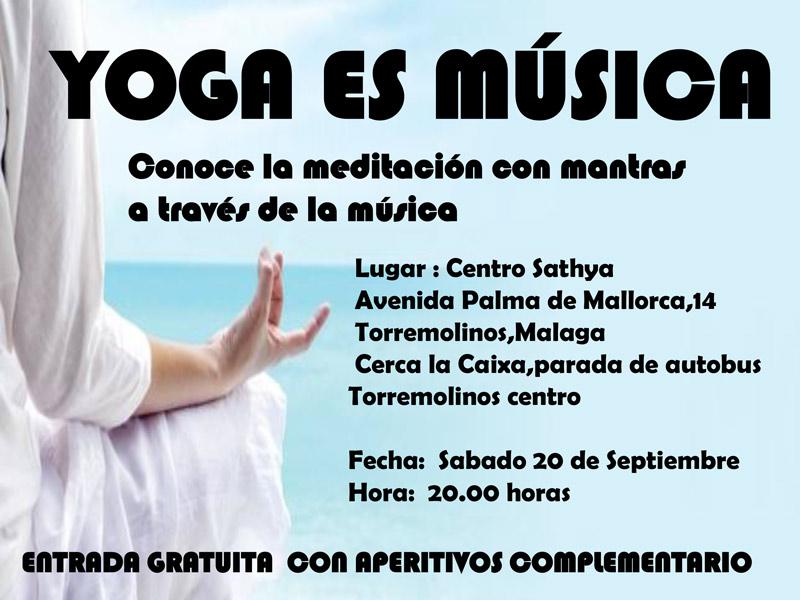 yoga es musica