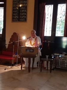 Visita de Deena Bandhu